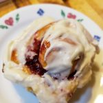 raspberry cinnamon roll